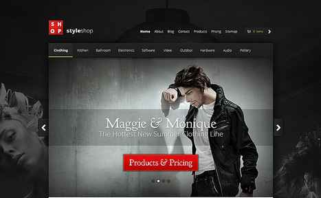 Best WooCommerce WordPress Themes 2014 | Mythemecafe.com | WordPress Theme | Scoop.it