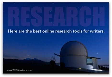 My favorite online research tools for writers | Notebook | Scoop.it
