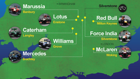 Motorsport Valley – the home of Formula 1 | Geography @ Stretford | Scoop.it
