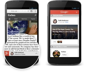 Google+: Content Recommendations for your Mobile Website - Google+ Developers Blog | DeMystify Marketing ~ Small Business Tips | Scoop.it