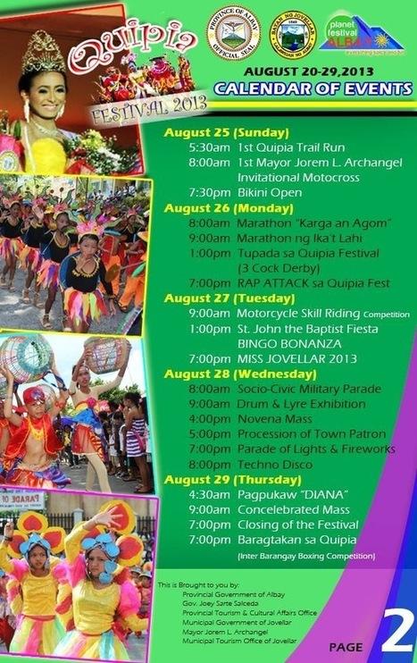 Quipia Festival 2013 | Civil Service Exam | Philippine Festivals | Scoop.it