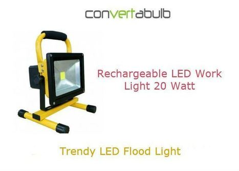Rechargeable LED Flood Lights   Convertabulb   Scoop.it