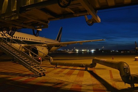 """Dall'alba al tramonto, il cielo di Roma sopra gli aeroporti"" 
