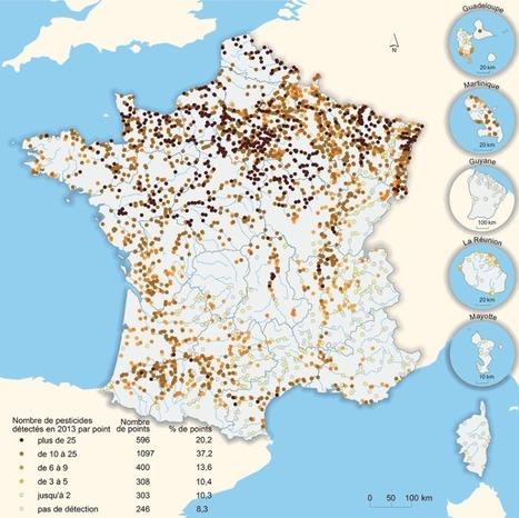 92% des cours d'eau surveillés en France sont pollués par des pesticides - notre-planete.info | Chronique d'un pays où il ne se passe rien... ou presque ! | Scoop.it