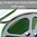 Top 10 Best Free Video Editing Softwares | VIDEO Creating, Editing | Scoop.it