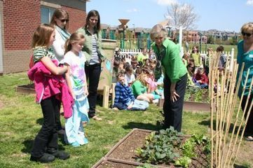 Kentucky's First Lady celebrates Earth Day with garden visit to Veterans Park ... - KyForward.com | Gardening with Children to Healthy Nutrition | Scoop.it