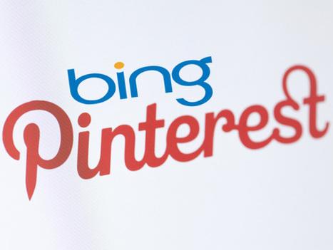 Bing poursuit son ouverture aux réseaux sociaux en accueillant Pinterest   French Digital News   Scoop.it