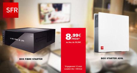 Vente SFR BOX FIBRE ET ADSL / 23598 / Accueil | Trucs et astuces du net | Scoop.it