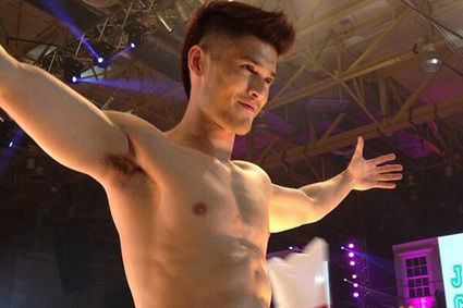 IMAGES: Nearly naked hunks at wet, wild Cosmo bash - ABS CBN News | Hunks (Adult Content, NSFW) | Scoop.it
