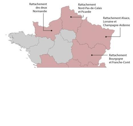 Réforme territoriale : l'Assemblée adopte une nouvelle carte à 13 régions   News in the French class   Scoop.it