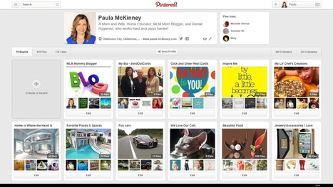 How to Pinterest for Your Business | Paula McKinney | Social Media Useful Info | Scoop.it