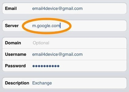 Tony Vincent's Learning in Hand - Blog - How to Set Up Gmail for School iPads andiPods | iPad Apps for Education | Scoop.it