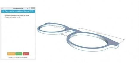 A la découverte d'Optimaker, un plugin SketchUp pour lunettes | La veille de l'atelier | Scoop.it