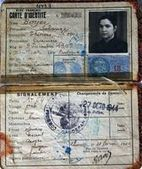 The French Genealogy Blog: A Vichy Régime Identity Card   GenealoNet   Scoop.it
