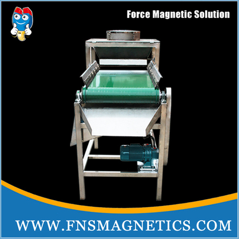 FNS #iron #remover,magnetic roll separators http://www.fnsmagnetics.com/iron-remover/ | Magnetic separator manufacturer | Scoop.it