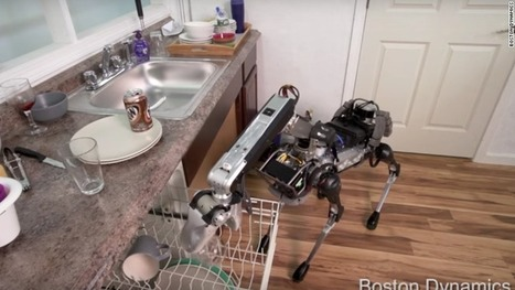 SpotMini from Google-owned Boston Dynamics does the dishes | CLOVER ENTERPRISES ''THE ENTERTAINMENT OF CHOICE'' | Scoop.it