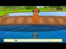 The Greedy Dog | English Nursery Story for Kids and Children | Animated Aesop Fable with Lyrics | Educational Videos & Games for Kids | Scoop.it
