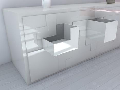 Tetris Furniture by Pedro Machado | All Geeks | Scoop.it