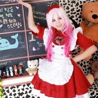 Cutie Cafe Japanese Lolita Maid Apron Dress Costume   Favorite Costumes   Scoop.it