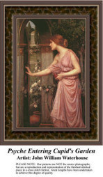 Psyche Entering Cupid's Garden Cross Stitch Pattern | Counted Cross Stitch News | Scoop.it
