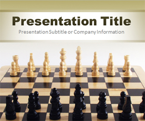 Chess PowerPoint Template | school | Scoop.it