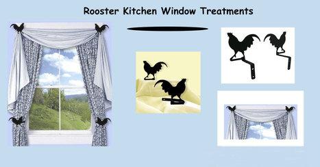 Rooster Kitchen Window Treatments   Window Treatments   Scoop.it