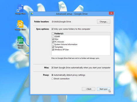 Google Drive makes setup easier for new users, adds new shortcuts | iPads - Box Hill Senior SC | Scoop.it