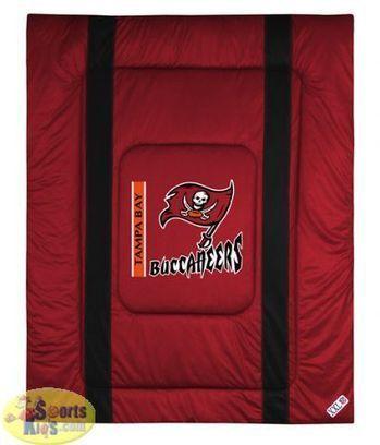 Tampa Bay Buccaneers NFL Bedding - Sidelines Comforter | NFL Bedding Sets - Sportskids.com | Scoop.it