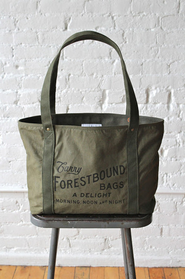 FORESTBOUND: LOGO TOTES | Fashion handbags | Scoop.it