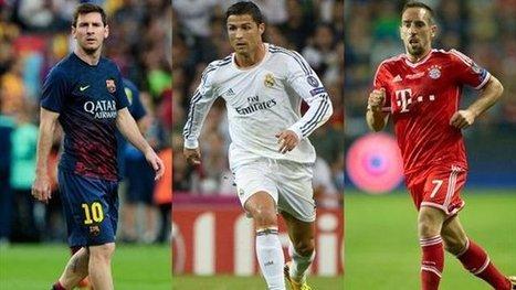 "Liga - Xavi: ""Messi meglio di Ribery e Ronaldo"" - Yahoo Eurosport IT | soloscommessecalcio | Scoop.it"