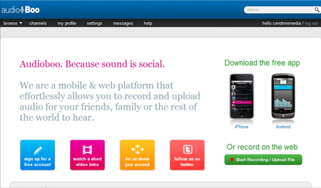 App Review: Audioboo - Blogcritics Sci/Tech | Business in a Social Media World | Scoop.it