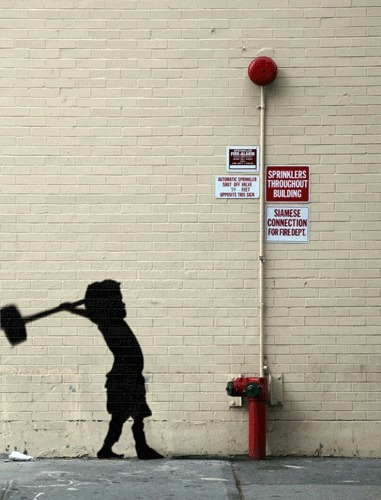 Bansky. Los grafitis que cobran vida propia | El arquitecto descalzo | Diseño gráfico e industrial | Scoop.it
