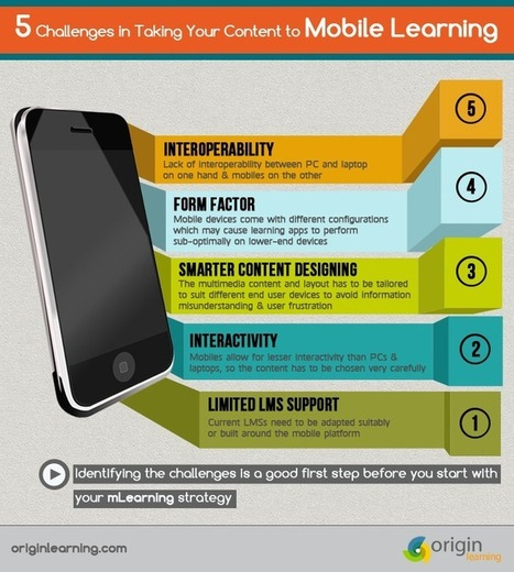 5 Challenges in Taking Your Content to Mobile Learning | Origin Learning – A Learning Solutions Blog | Mobile Learning | Scoop.it