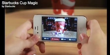 Starbucks: Augmented Reality Xmas Cups | Digital Buzz Blog | Digital me | Scoop.it