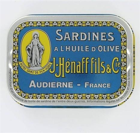 Hénaff ressort une boîte... de sardines! - ouest-france.fr | Produits de France | Scoop.it