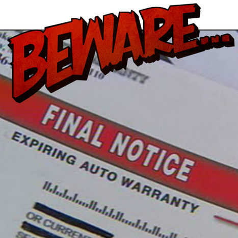 Third-Party Extended Auto Warranty Scams | Car Shopping | Scoop.it