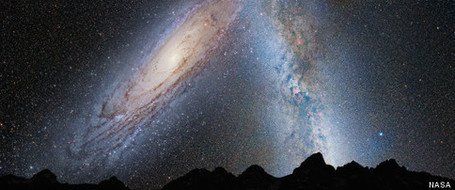 Milky Way, Andromeda Galaxy To Collide In 4 Billion Years, NASA Says | Sharing Is Caring | Scoop.it