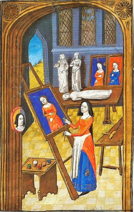 Women Artists from the 1300s-1400s - Illuminated Manuscripts   Palimsesto   Scoop.it