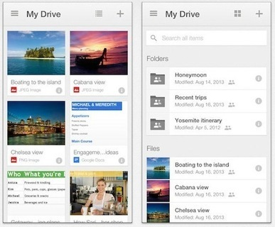 Google releases revamped Google Drive 2.0 for iOS | 1:1 implementation | Scoop.it