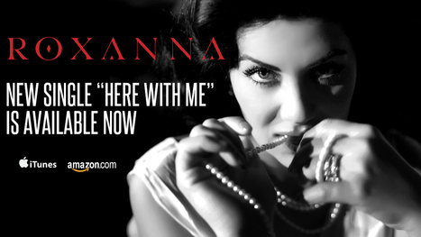 """New single """"Here With Me"""" available NOW! 