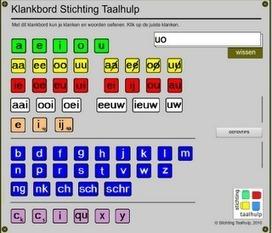 Klanken en woorden inoefenen met het klankbord | Leren met ICT | Scoop.it