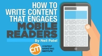 How to Write Content That Engages Mobile Readers | M-learning, E-Learning, and Technical Communications | Scoop.it