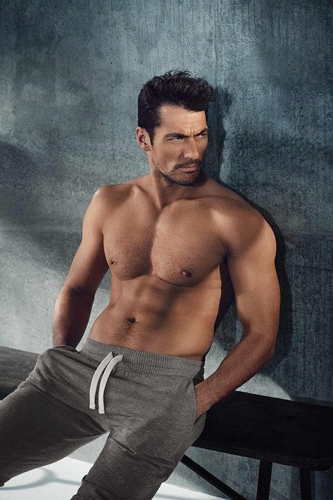 David Gandy 2016 Marks & Spencer Loungewear Collection | THEHUNKFORM.COM | Scoop.it