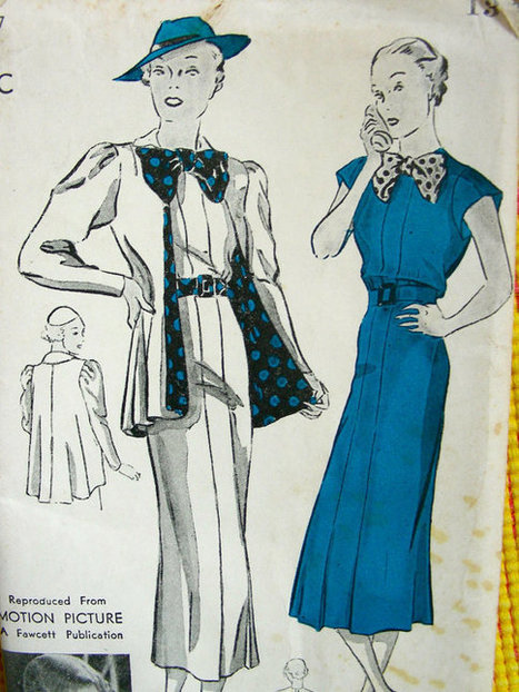 Vintage Movie STAR Sewing Pattern | What I like to do | Scoop.it