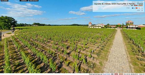Visite virtuelle - Vignoble du château Smith-Haut-Lafitte à Martillac - France par Pascal Moulin | moulin360panoramic | Scoop.it