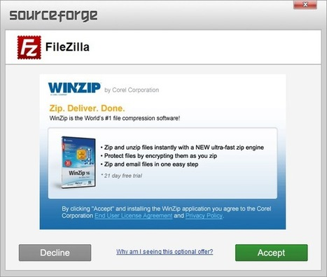 Good News, Sourceforge stops bundling adware with installers | Freewares | Scoop.it