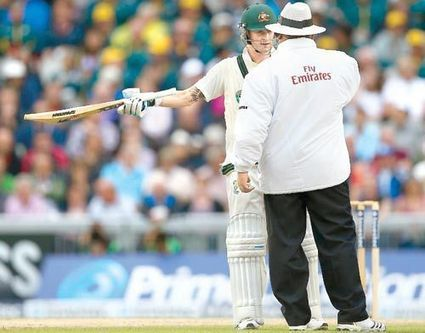 Michael Clarke furious with umpires for halting play | News | Scoop.it