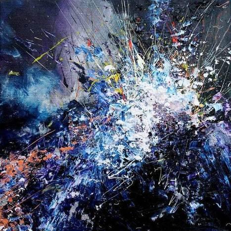 Atteinte de synesthésie, elle peut voir la musique. Elle a décidé de peindre ce qu'elle entend. | Ce qui nous fascine | Scoop.it