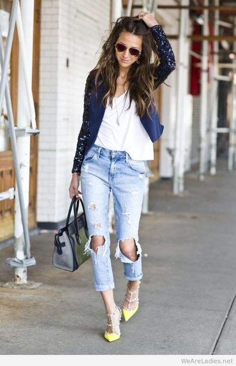 Awesome outfits with jeans   Pintast   Scoop.it