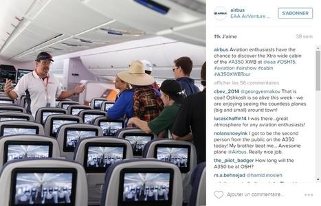 Communiquer sur les réseaux sociaux ? L'exemple d'Airbus ! | My DigiTag | Scoop.it